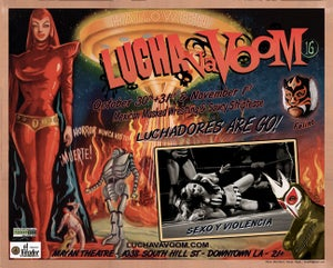 Image of Lucha VaVOOM poster 16