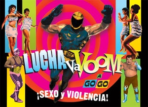 Image of  Lucha VaVOOM poster 6