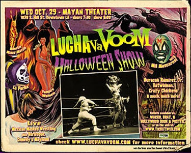 Image of  Lucha VaVOOM poster 4