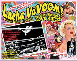 Image of  Lucha VaVOOM poster 5