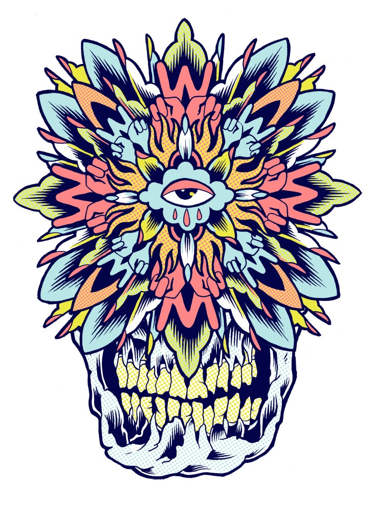 Image of Skull Mandala