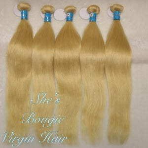Image of 3 bundle deal #613 color straight hair