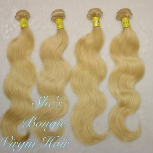 Image of 3 bundle deal #613 color body wave hair