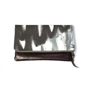 Image of Magpie Foldover Clutch