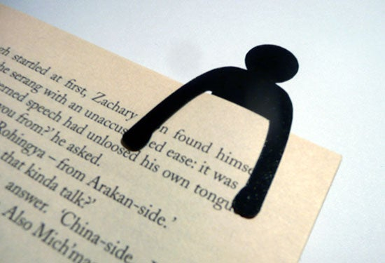 Image of Little Man Bookmark