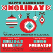 Image of Happy Handmade Holiday Deals And Sale