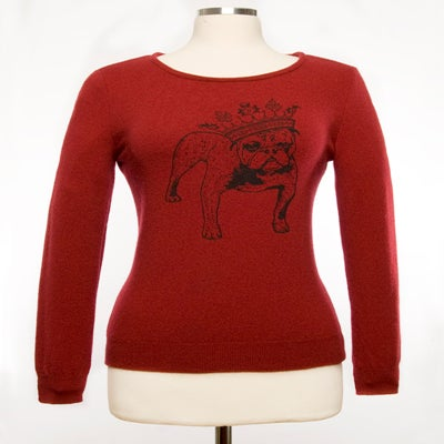 "Image of ""Basil"" Womens Cashmere Sweater"