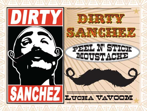 Image of Dirty Sanchez Moustache