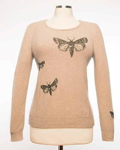 Image of The Bella Moth Sweater - Oat Heather