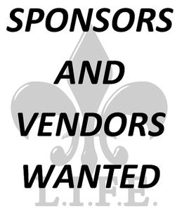Image of SPONSOR/VENDING @ A L.I.F.E. EVENT OR WEBSITE
