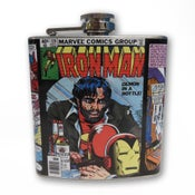 Image of IRON MAN FLASK