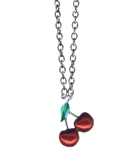 Image of Twin Cherries necklace