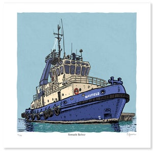 Image of The Tugboat Mayfield Limited Edition Print