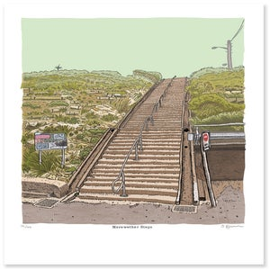 Image of The Merewether Steps