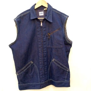 Image of Lee denim cut off vest