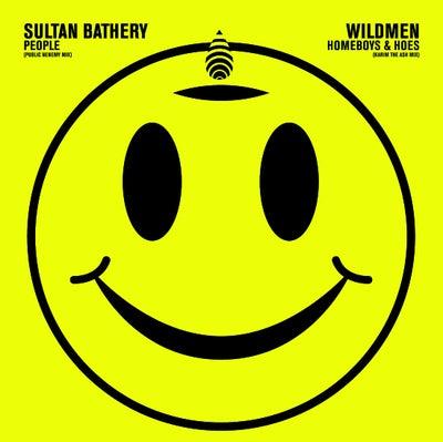 "Image of Wildmen / Sultan Bathery SPLIT 7"" *LAST COPIES ON COLOURED WAX*"