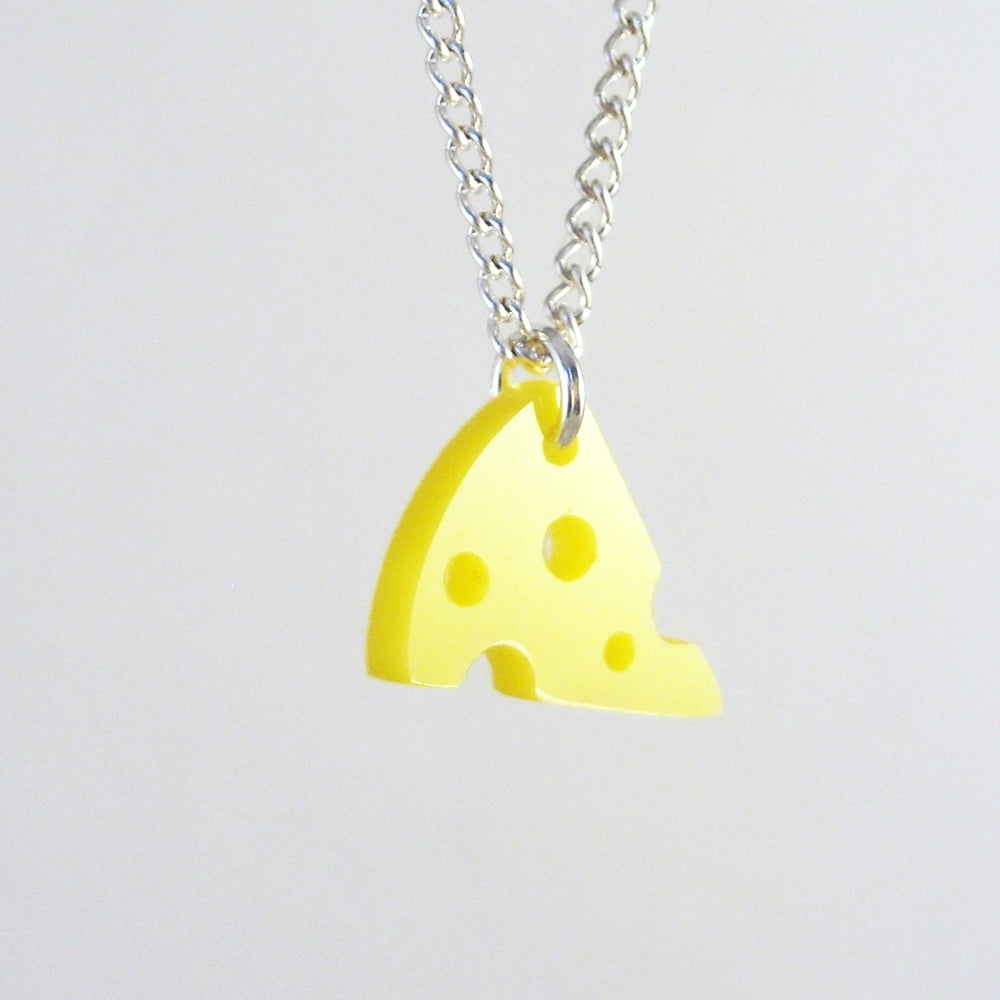 Image of Mini Cheese Necklace