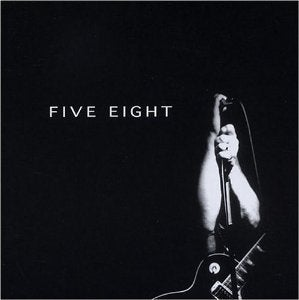 "Image of Five Eight - ""Five Eight"" (""The Black Album"") CD - 2004"