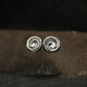 Image of One Pair of Twisted Earrings medium