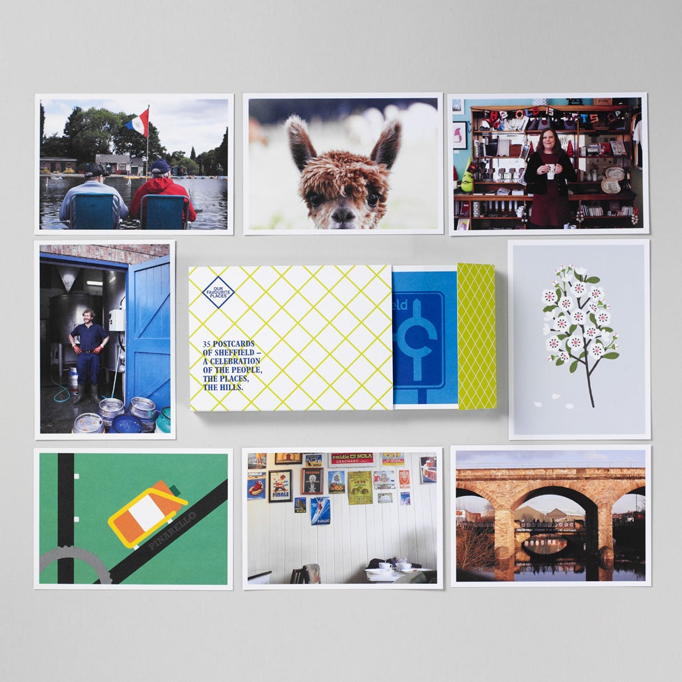 Image of 35 Postcards of Sheffield