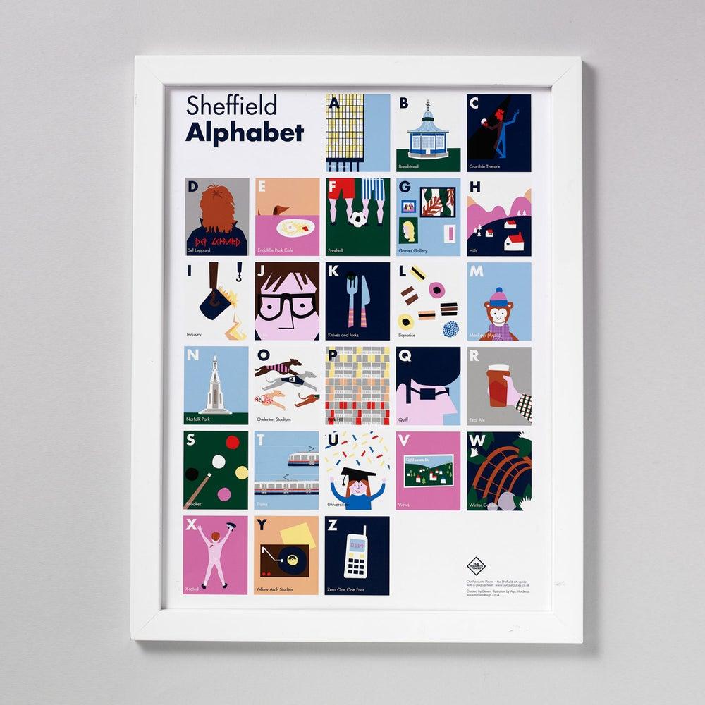 Image of Sheffield Alphabet Print