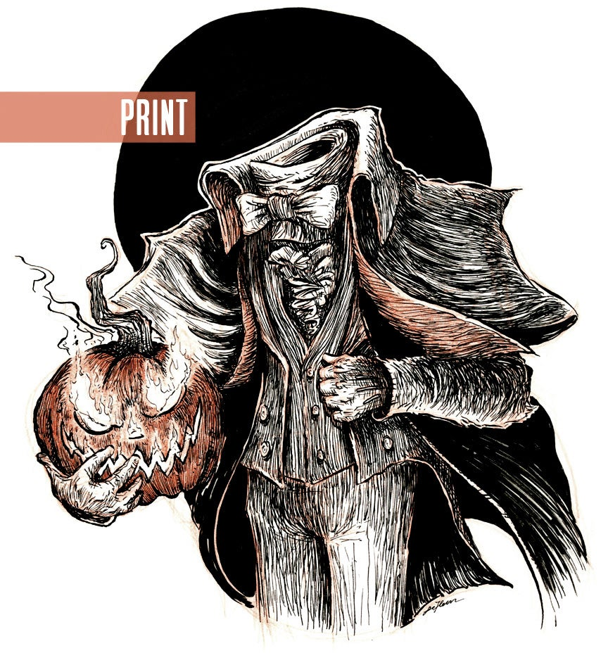 Sleepy Hollow Auto >> The Headless Horseman / LaFleur Illustration