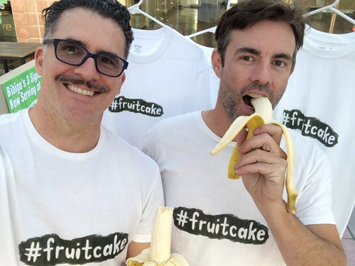 Image of #fruitcake t-shirt by Margie Schnibbe