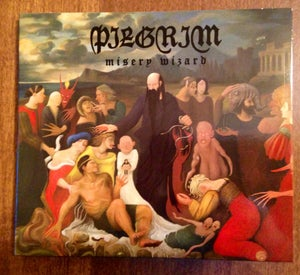 Image of 'Misery Wizard' CD