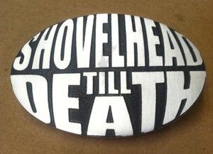 Image of Shovelhead Till Death Belt Buckle