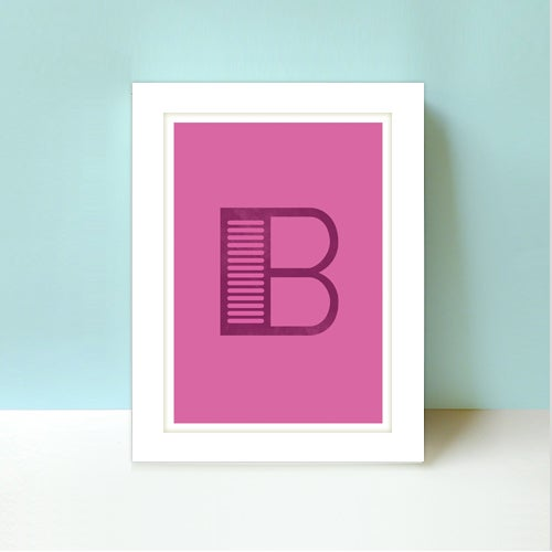 Image of Letter B