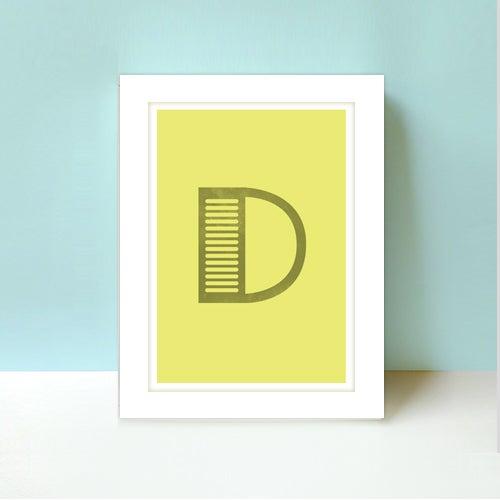 Image of Letter D