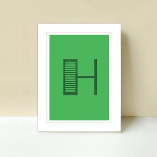 Image of Letter H