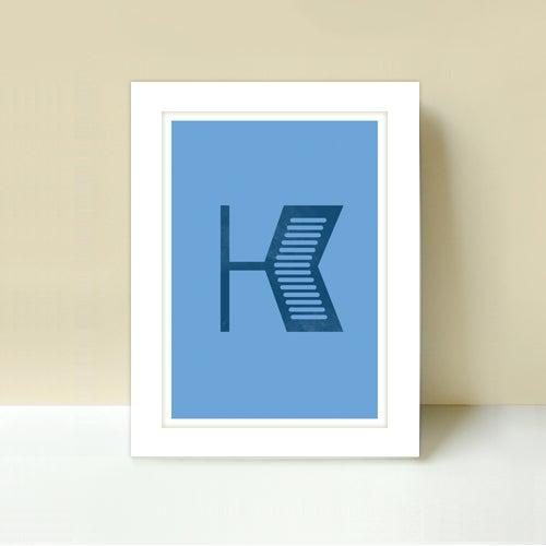 Image of Letter K