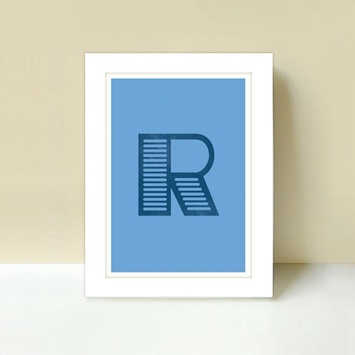 Image of Letter R