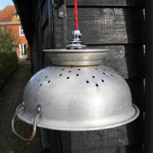 Image of Medium Aluminium Collander Lamp