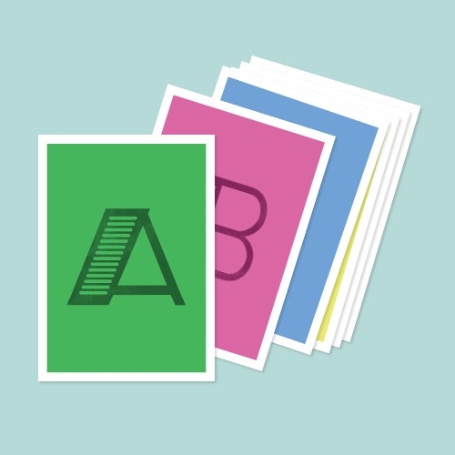 Image of Alphabet Card Set