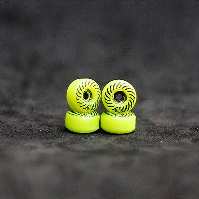 Image of Oak Wheels Spiral Series - Acid Green