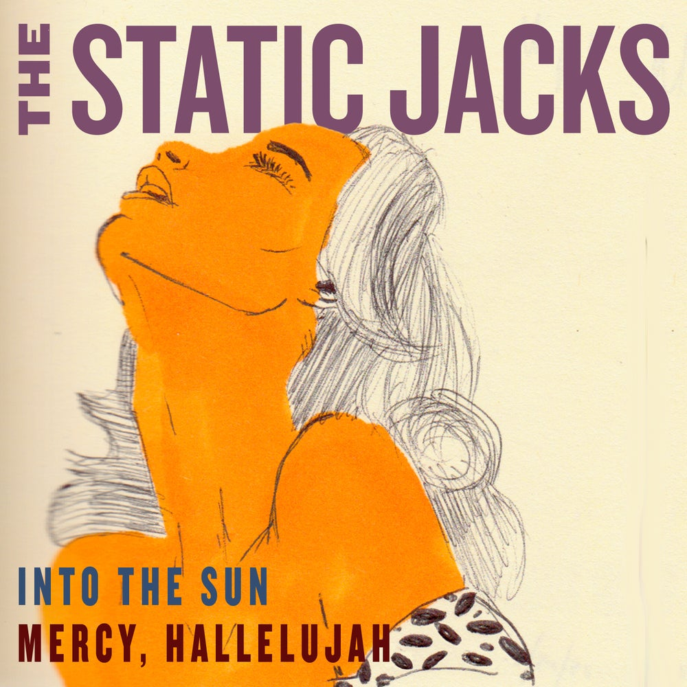 """Image of The Static Jacks - """"Into The Sun"""" 7"""" vinyl"""