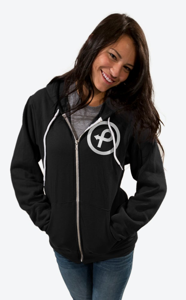 Image of Passenger Project Logo Zip-Up Hoodie - Women
