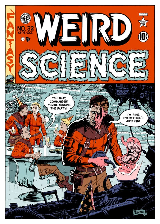 Image of WEIRD SCIENCE — 17 × 24″ screen print
