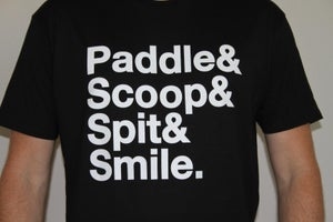 Image of Paddle|Scoop|Spit|Smile - Black