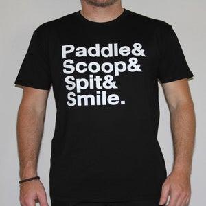 Image of Paddle|Scoop|Spit|Smile - Black