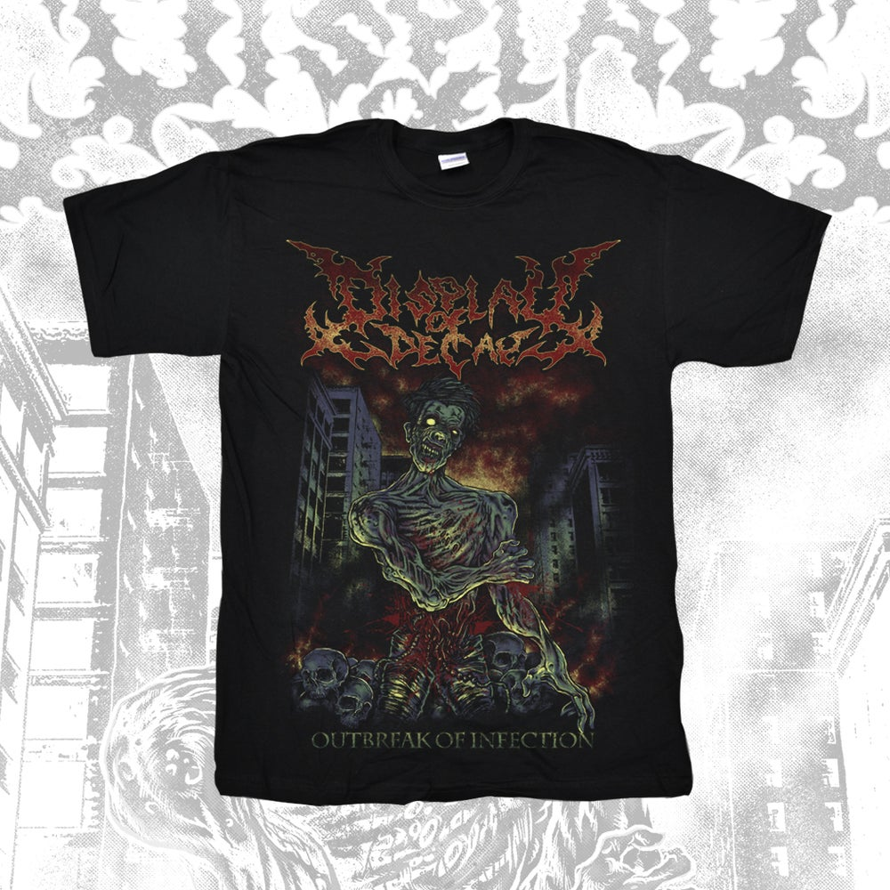 """Image of """"Outbreak of Infection"""" Tee"""
