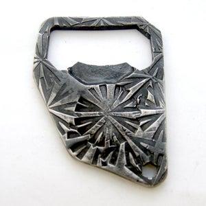 Image of Forged Keychain Bottle Opener