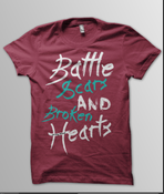 "Image of ""Battle Scars & Broken Hearts"" T-Shirt"