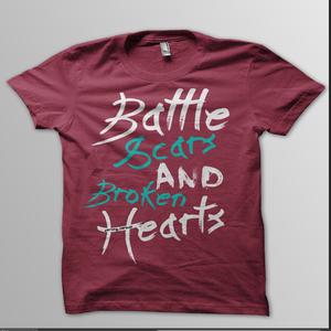 "Image of ""Battle Scars & Broken Hearts"" T-Shirt"