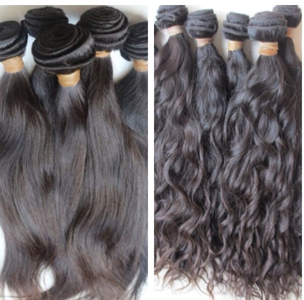 Image of (MM) Virgin Indian straight or natural wave