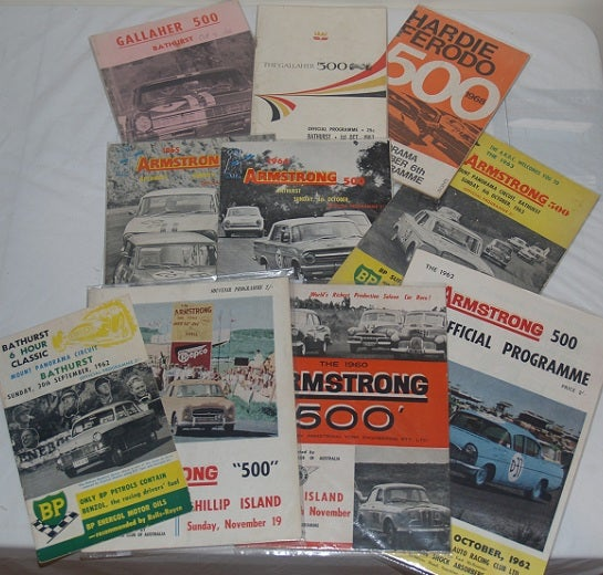 Image of 1963 Armstrong 500, Bathurst Programme