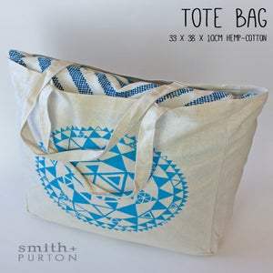 Image of Tote bag hemp/cotton