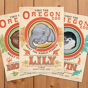 Image of Visit the Oregon Zoo - 3 Pack